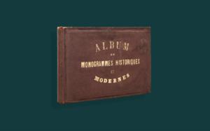 Histoire & Généalogie : les albums de monogrammes
